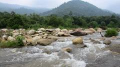 Taha Waterfalls at Ban Khiri Wong in Nakhon Si Thammarat, Thailand Stock Footage