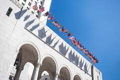 Los Angeles Civic Center - stock photo