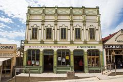 Sovereign Hill Building on Main St - stock photo