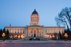 Manitoba Legislative Building Stock Photos