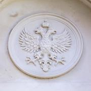 Stock Photo of Russia's, emblem of the double-headed eagle
