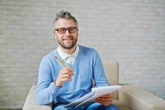 Successful psychologist Stock Photos