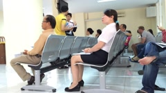 Immigration department in Saigon Stock Footage