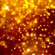 Glittery golden festive background - stock illustration