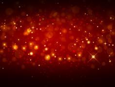 elegant red festive background - stock illustration