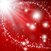 Stock Illustration of glittery festive fantasy