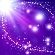 Stock Illustration of glittery festive background