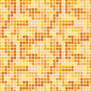 Seamless pattern of randomly connected squares - stock illustration