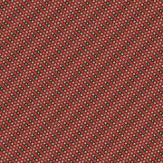 Seamless pattern of dots in gradient colors - stock illustration