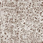 Stock Illustration of Seamless pattern of hand-drawn lines similar to crack