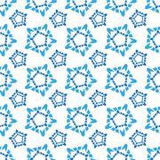 Seamless pattern of elements similar to kissing - stock illustration