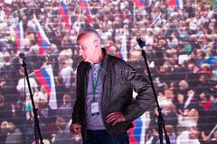 Opposition activist Vladimir Ionov Stock Photos