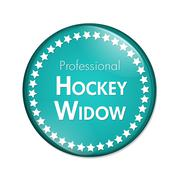 Professional Hockey Widow Button Stock Illustration