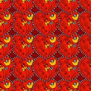 Stock Illustration of Seamless Pattern Hearts
