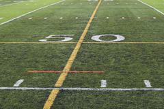 50 yardline - stock photo