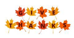 Thanksgiving banner - stock illustration