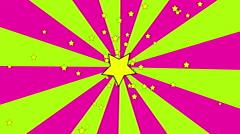 Retro Spiral Pink 4K Loop Stock Footage