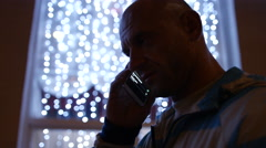 Stock Video Footage of Businessman talking on the phone. 4K 30fps ProRes (HQ)
