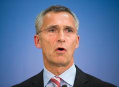 NATO Secretary General Jens Stoltenberg - stock photo