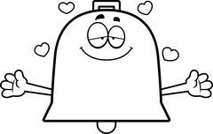 Stock Illustration of Cartoon Bell Hug