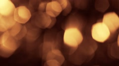 Background bright light yellow orange red gray abstract background bokeh holiday Stock Footage