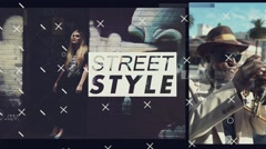 Glitch-Street Style Stock After Effects