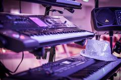 synthesizer - stock photo