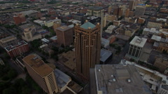 Aerial Alabama Birmingham Stock Footage