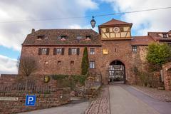 Stock Photo of City gate of Dilsberg