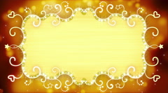 golden casino banner loopable animation 4k (4096x2304) - stock footage