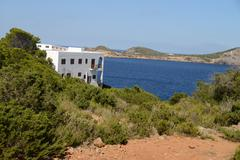 Picturesque views of Balearic Islands - stock photo