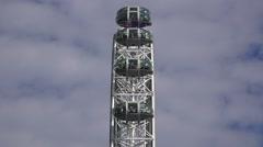 The London Eye (in 4k), London, UK. Stock Footage