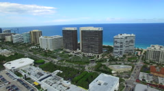 Aerial video Bay Harbour and Bal Harbour 3 Stock Footage
