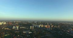 Panorama of the city of Samara Stock Footage