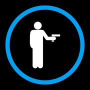 Robbery icon - stock illustration