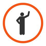 Assurance icon Stock Illustration