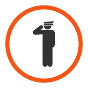 Stock Illustration of Police officer icon