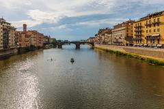 River Arno in Florence - stock photo