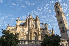 Jerez de la frontera Cathedral, Spain - stock photo