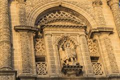 San Miguel church, Jerez de la Frontera, Spain Stock Photos
