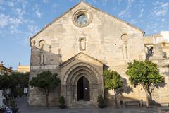 Sant Dionisio Church, Assumption square, Jerez de la Frontera, Spain Stock Photos