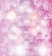 Happy New Year and Marry Christmas Background Stock Illustration
