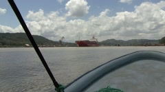 Boatride on the Panama Canal 4 Stock Footage
