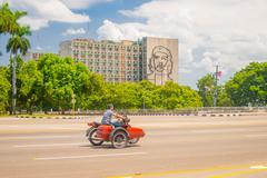 Plaza de la Revolucion in Havana, Cuba - stock photo