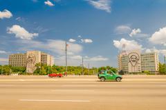 Plaza de la Revolucion in Havana, Cuba Stock Photos
