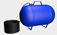 Air Pressure Tank - stock illustration