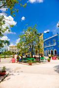 SANCTI SPIRITUS, CUBA - SEPTEMBER 5, 2015: Latin for Holy Spirit. It is one of - stock photo