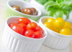 Color tomato Stock Photos