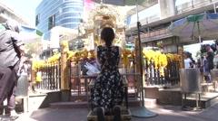 Bangkok Bombing Erawan Shrine Reopens Stock Footage