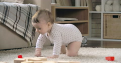 Active Infant Stock Footage